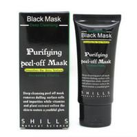 маска для удаления пор оптовых-Blackhead Remover Pore Cleaner Facial Mask Purifying Peel Off Black Mud Face black Mask Deep Cleansing 50ml 2pcs