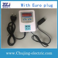 Wholesale Digital HUMIDITY CONTROLLER with Euro plug moisture controller humidity switch control Humidifier Dehumidifier