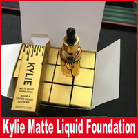 Acheter Feeding bottle-Kylie Glod <b>Feeding Bottle</b> Foundation 30ml Kylie Matte Liquid Foundation Custom Enhancer Drops Maquillage maquilleur de fond de visage