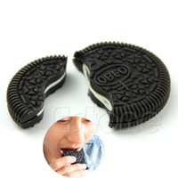 Wholesale Oreo Magic Trick - Wholesale-Magic Close-Up Cookie Street Trick Biscuit Bitten And Restored Gimmick OREO Bite