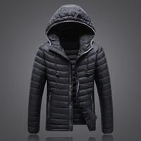 Wholesale Light Purple Jackets Coats - Wholesale- 2016 Hot Sale Ultra-light Winter Warm Down Coat Slim Waterproof Down Jacket 90% White Duck Down jacket coat JK-1503