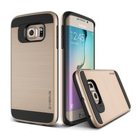 Wholesale Silicon Rubber Wallets - Soft TPU Silicon Brushed Texture Case Hybrid Rubber Armor Phone Case For Samsung Galaxy S7 S7 Edge