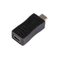 ingrosso tipo b caricabatteria-Freeshipping 20pcs / lot Mini USB Maschio a Micro USB Femmina Tipo B Caricatore Adattatore Convertitore