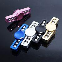 Wholesale Box Whistles - EDC Fidget Spinner toy HandSpinner Whistle Shape Hand Spinner Finger Gyro Fingertips Spiral Spinner Aluminium Alloy With Retail Box