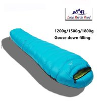 Wholesale Ultralight Sleeping Bag Down - LMR brand ultralight can be spliced filling 1200g 1500g 1800g white goose down comfortable camping sleeping bag