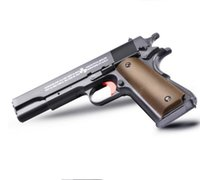 Wholesale Fast Shoot - M1911 gun toy for CS game can shoot water bullet electric gun toy fast shipping and order deal