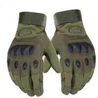 Finger Gloves spring meanings - Autumn And Winter Outdoor Gloves All Means Tactical Glove Sports Gloves Military Men s Tactical Fighting Training Gloves