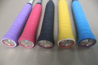 Wholesale Grips Rackets - dry frosting sweat band grip (15 pcs in one set) badminton racket sweat band . tennis racket overgrips . Free Shipping