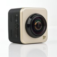 Wholesale Mini Camera Rechargeable - 360 Mini panoramic camera 1080P1.5 inch display outdoor sports camera waterproof 30 meters with IWFI special package