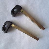 toyota camry tuşları toptan satış-2011 Toyota Crown Akıllı yedek anahtar bıçak 2011 Crown Akıllı Anahtar Kart için Acil Yedek Bıçak