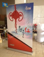 Wholesale Banner Pull Up - 80*200cm Aluminum roll up banner stand  pull up display stand  exhibition banner stand