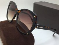 Wholesale stones sunglasses for sale - 0362 Luxury Women Brand Designer Sunglasses Square Frame UV Protection Lens With Diamond Stone Legs Summer Style Top Quality Come With Case