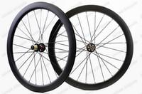 тормоз bike u оптовых-700C 50 мм глубина 25 мм ширина углеродистые колеса дисковый тормоз циклокросс углерода дорожный велосипед колесные диски Clincher / трубчатые U-образный обод