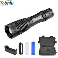 Wholesale bike lights high lumens for sale - Group buy CREE XM L2 T6 Bicycle Light Lumens Bike Light modes Torch Zoomable LED Flashlight Battery Charger Bicycle Clip