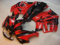 f3 plásticos venda por atacado-Kits de Carenagem para Honda Cbr600 97 98 Carroçaria CBR 600 F3 1998 Carenagem de Plástico Preto Vermelho CBR600 F3 1996 1995 - 1998