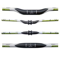 Wholesale Carbon Green Bike Parts - FCFB FW carbon mountain handlebar flat or rise green bar size 600-720mm bike parts carbon parts cycling accessories top carbon