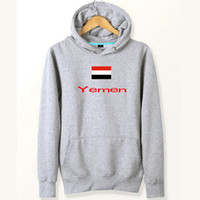 Jemen flagge hoodies Nation universelle designer sweat shirts Land fleece kleidung Pullover sweatshirts Outdoor sport mantel Gebürstete jacken