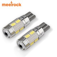 Wholesale Hidden Turn Light - 10X car styling Car Auto LED T10 194 W5W 10 smd 5630 Auto Light Bulb led light parking T10 LED Side Light