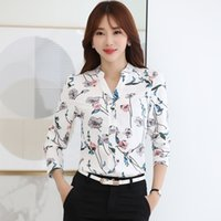Wholesale Early Crystals - A shipping spring Korean ship all matched V loose sleeves and early short sleeved shirt with a white shirt female lantern
