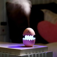 Wholesale Egg Humidifier LED Table Lamp Mini USB Air Freshener Purifier Mist Maker For Home Sleep Master Children Decoration Nightlight