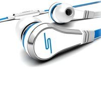 Wholesale High Quality Sms Ear - 50 cent sms earphone 50cent high quality wired earphones mini ear phone headsets 50-cent earphones sms audio earbuds for iphone samsung