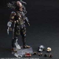 Wholesale Alien Predator Figures - Kissen Play Arts Kai Predator Figure Alien Hunter Primevil Figure PA 25cm PVC Action Figure