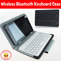 Wholesale Surface Rt Cases - Wholesale- 10.1inch Universal Wireless Bluetooth Keyboard Cover Case for For Mircosoft surface RT 10.1 inch,free 3 gifts