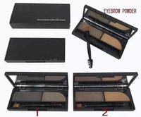 Wholesale Brow Shader - DHL makeup BROW SHADER eye brow palette derfard poudre pour les sourcils 3g in stock