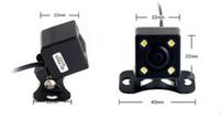 Wholesale 12v Night Vision Car Cameras - HD LED Waterproof Rearview Car Camera PZ412 1 4 CMOS DC 12V IP67 Night Vision 170 Degree 600TVL Post