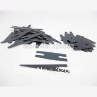 Wholesale Tattoo Springs Set - Wholesale-10 Sets Black Tattoo Machine Gun Parts Shader Contact Spring Set Supply TSS11-10