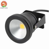 Wholesale Lamp Case - Wholesale-1pc Case 10W rainproof LED Flood Light lamp Wash Pool Waterproof Light Spot Lamp 12V Outdoor lighting led spotlight floodlight