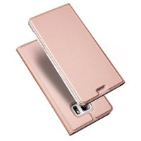 Wholesale Mate Wallet - For Samsung S8 DUX DUCIS Skin Seires PU Case Ultra Thin Flip Leather Wallet Cover For HuaWei mate 9 mate9 pro P10 P10plus