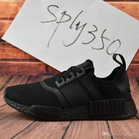Unisex black box wines - With Box Discount High Quality NMD Runner PK Running Shoes Men Women Mesh Boost Cheap Sports Shoes Wine Red Size