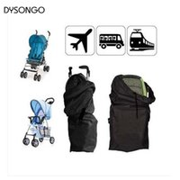 Wholesale Trolley Case Accessories - Wholesale- DYSONGO Baby Stroller Travel Bag By Baby Carriage Cover Case Umbrella Trolley Pram Oxford Cloth Bag Stroller Accessories