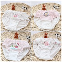 Wholesale Girl Children Knickers - Baby Briefs Girls Boys Underpants Children Cartoon Cotton Short Pants Knickers Under Drawers Kids Clothing Wholesale XY303