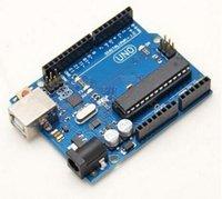Wholesale Arduino Board Kit - 1pcs UNO R3 ATmega328P ATmega16U2 Version Development Board USB Cable Fr Arduino VE099 W0.5 SUP5