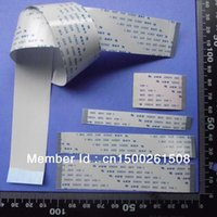 Wholesale Ffc Cable Pin - Wholesale- CUSTOMIZED ORDER : Flat Flex ribbon FFC cable 4 - 20 pin 30 - 300mm long pitch 0.5mm 0.8mm 1.0mm 1.25mm awm vw-1