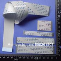 Wholesale Ffc Ribbon - Wholesale- CUSTOMIZED ORDER : Flat Flex ribbon FFC cable 4 - 20 pin 30 - 300mm long pitch 0.5mm 0.8mm 1.0mm 1.25mm awm vw-1