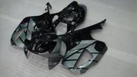 Wholesale Honda Rc51 Body Kits - ABS Fairing for Honda VTR1000 RR 06 05 Full Body Kits RTV1000R RC51 03 04 Black Silvery Fairings SP1 SP2 01 02 2000 - 2006