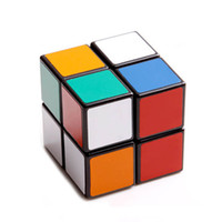 Wholesale Speed Magic Cube Puzzle Block Games Children Square Spinner Oyuncak Polymorph Plastic Cubo Magico x2x2 Educational Toys D0657