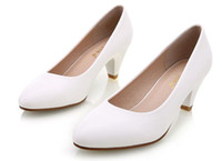 olgun kadınlar yüksek topuklu toptan satış-Kadın Yüksek topuklu ayakkabılar yüksek topuklu zapatos mujer pompa Olgun kadınlar için yeni moda ayakkabı Ofis lady