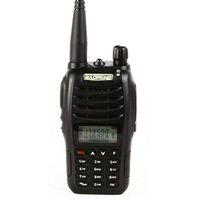 Wholesale Earpieces Vhf Radio - Wholesale- Baofeng 2016 Newest Dual Band VHF and UHF 5W Walkie Talkie Baofeng UV-B6 +earpiece EU RU US stock