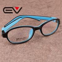 gafas de animales al por mayor-Venta al por mayor- Niños de alta calidad Gafas de silicona Niños Gafas llenas Montura de niños Óptico Miopía Glasse Girl Lentes ligeras EV0279