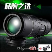 Wholesale Night Vision Infrared Telescope - 2017 Newest !!! High-power High-definition Low Light Night Vision Monocular Telescope KT Non-infrared Concert Military Binoculars 30X52