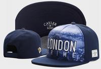 Wholesale hat snapback london - Free shipping new navy blue 2017 cayler sons LONDON GRIME snapback baseball cap hat casquette street hip hop cap snapback caps TYMY 697
