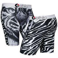 Wholesale Printed Boxers - Ethika Men's Underwear Boxer Polyester spandex tiger print