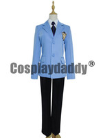 Wholesale Host Club Cosplay - Ouran High School Host Club Boys School Uniform Cosplay Costume