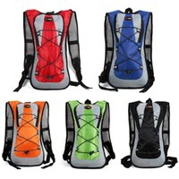 Wholesale Backpack For Water Bag - 5 Colors Bicycle Cycling Running Hiking Climbing Outdoor Sports Water Backpack Bag For Hydration 2L Water Bladder Bag