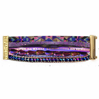 Wholesale Gift Wrapping Singapore - G&Z DIY Hipanema Bracelets women Jewelry weave bracelet 2015 new fashion Hand made Free shipping wrap bangles HIP098