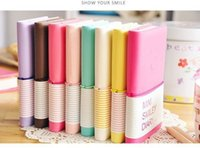 Wholesale Smiley Paper Diary - Wholesale- 1 PCS Mini Colorful Notebook Portable Smiley Paper Diary Cute Charming Memo Note Book